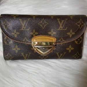 Louis Vuitton Brown Monogram Eugenie Wallet